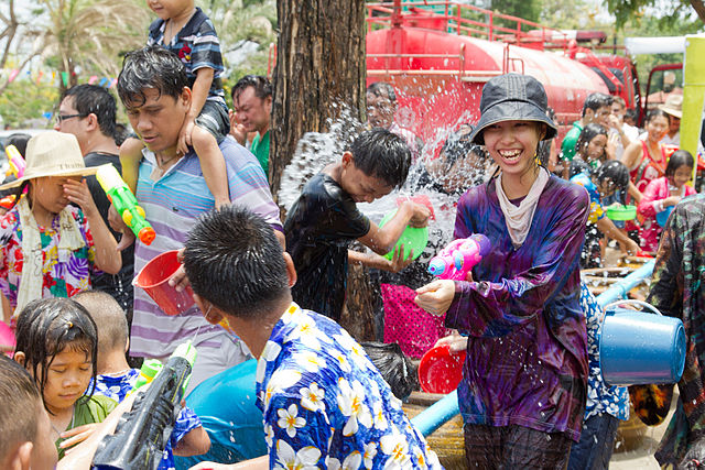 Songkran Festival - Creative Commons by JJ Harrison