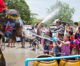 When is Songkran 2014 : Photo By JJ Harrison