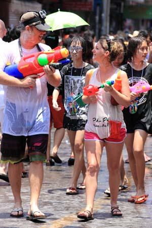 Songkran Water Fight 2019